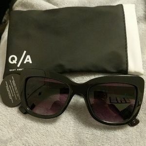 Quay sunglasses. Never worn.